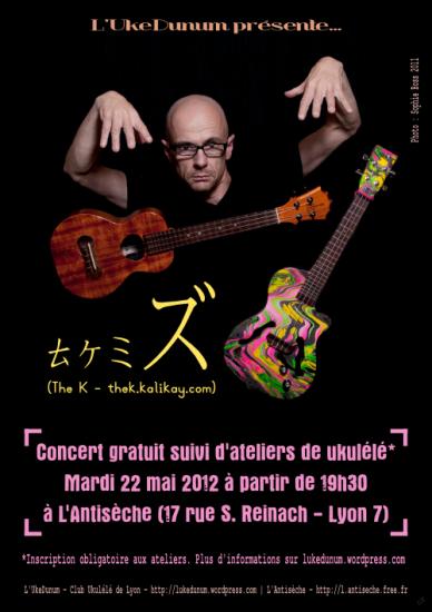 The K, concert+workshop Lyon 22/05