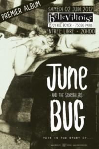 June Bug and the Storytellers ce soir à Paris !