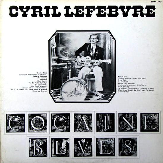 couverture de Cocaine Blues