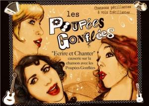 Les Poupées Gonflées : conférence et concert à Liège
