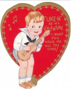 Uke'n'Be my Valentine