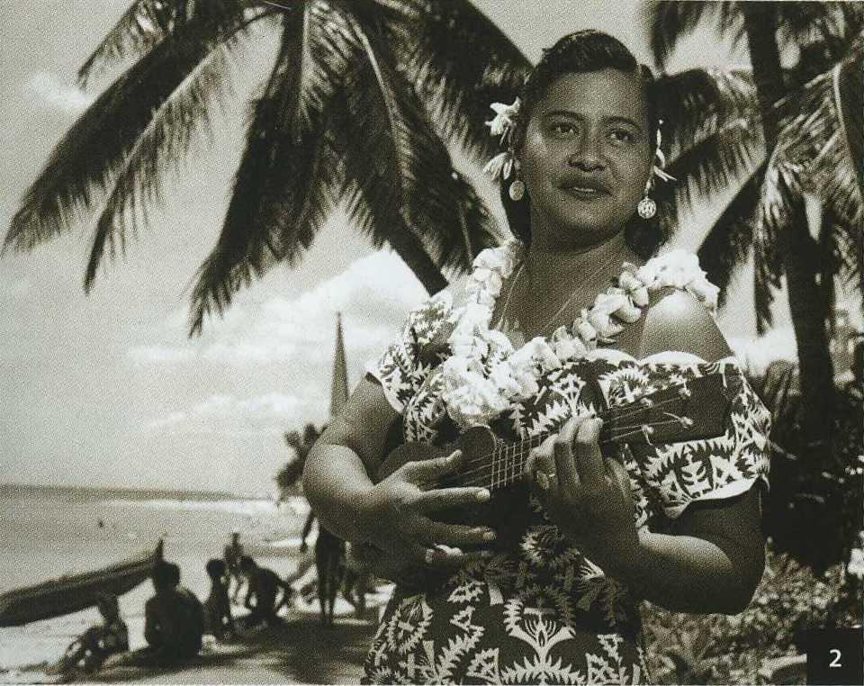 Haunani Kahalewai ( 1929 - 1982 ) Courtesy Bishop Museum