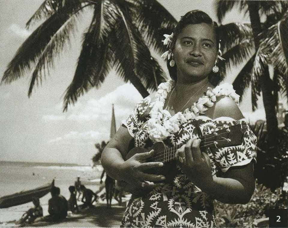 Haunani Kahalewai ( 1929 - 1982 ) Courtesy Bishop Museum