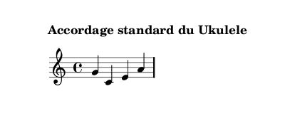 accordage standard