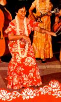 Genoa Keawe as featured on the Party Hula record picture (dr)