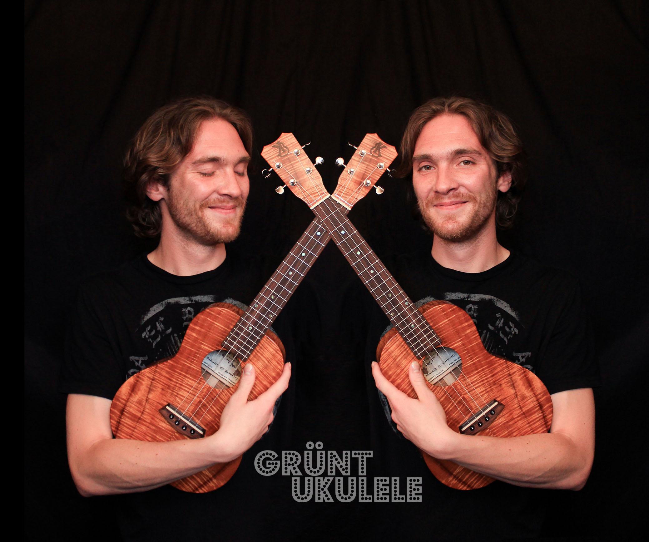 Adrien french ukulele player